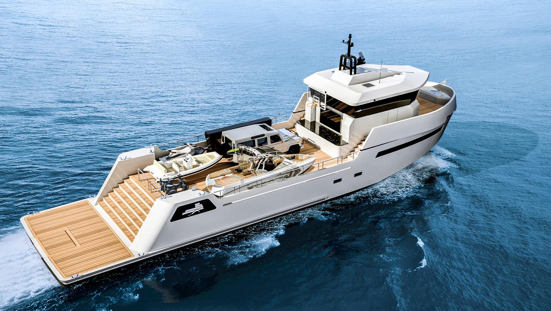 Lynx Yachts 24m YXT