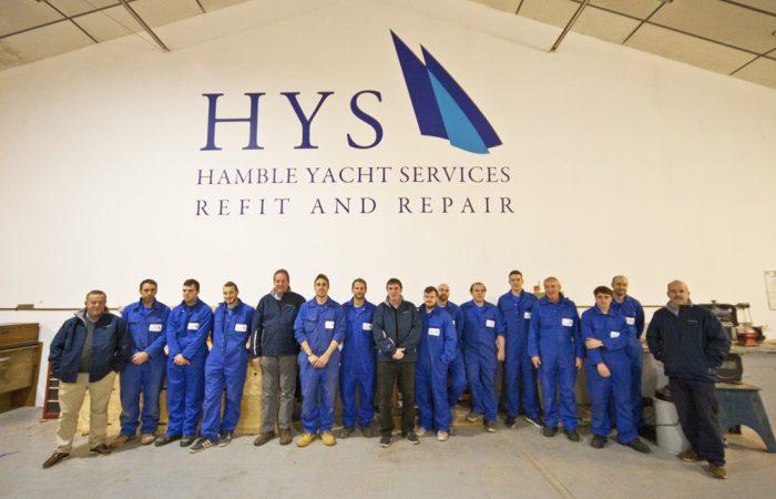 Hamble Yacht Services Team