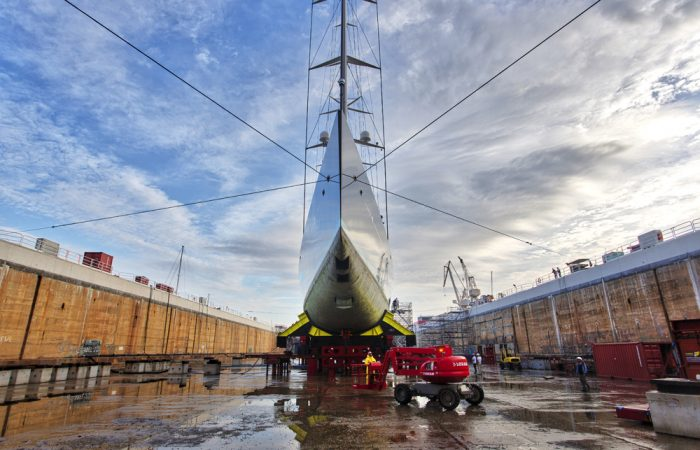 MB92 La Ciotat Dry Dock
