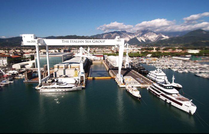 NCA Refit Italian Sea Group