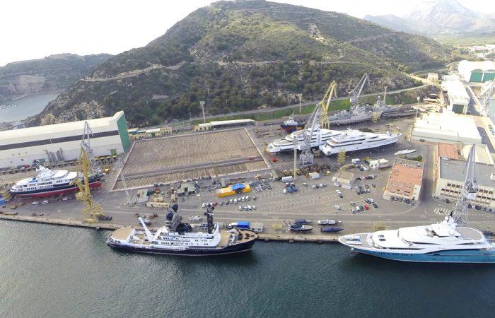 Navantia Shipyard