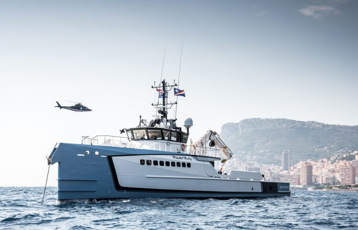 Damen yacht support power play