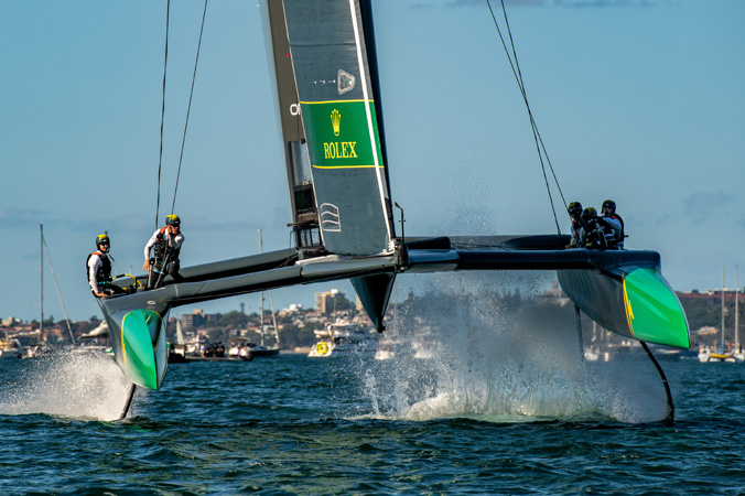 SailGP Event 1 Season 1 Sydney Australia
