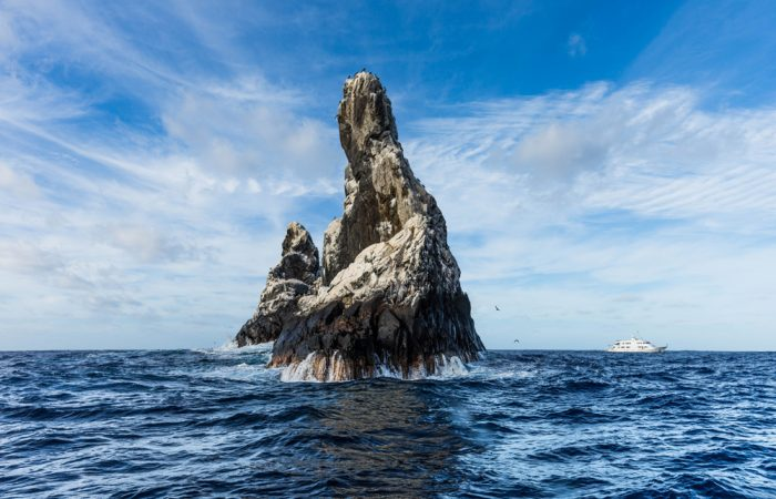 Cookson Adventures Roca Partida ranks as the smallest of the four Revillagigedo Islands, part of the Free and Sovereign State of Colima in Mexico.