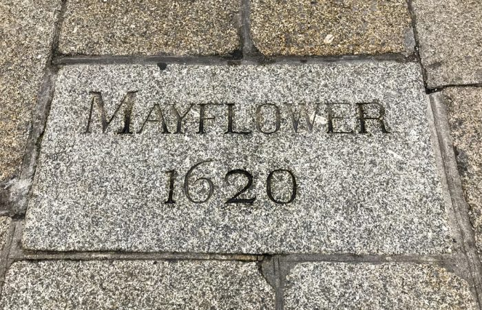 Entrance to Mayflower embarkcation steps