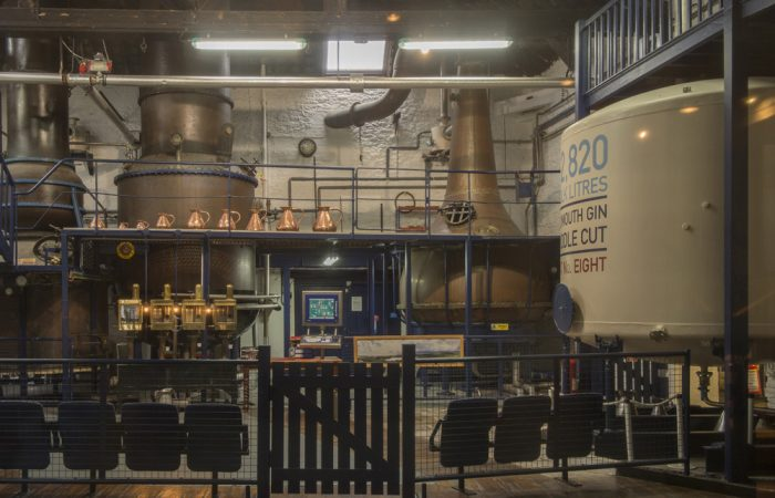 Plymouth Gin distilling room