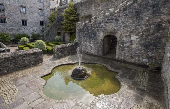 The Elizabethan Gardens in Plymouth