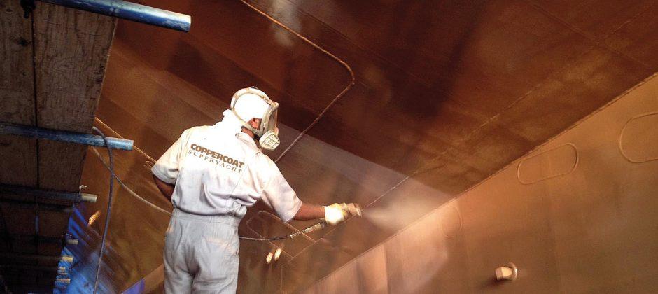 Superyacht coatings