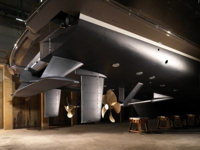 Hull Vane Heesen yachts